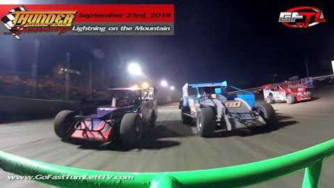Jerry Higbie @ Thunder Mountain Speedway - Short Track Super Series - Modified Feature - 9/23/18